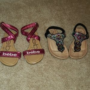 Lot if size 12 sandals